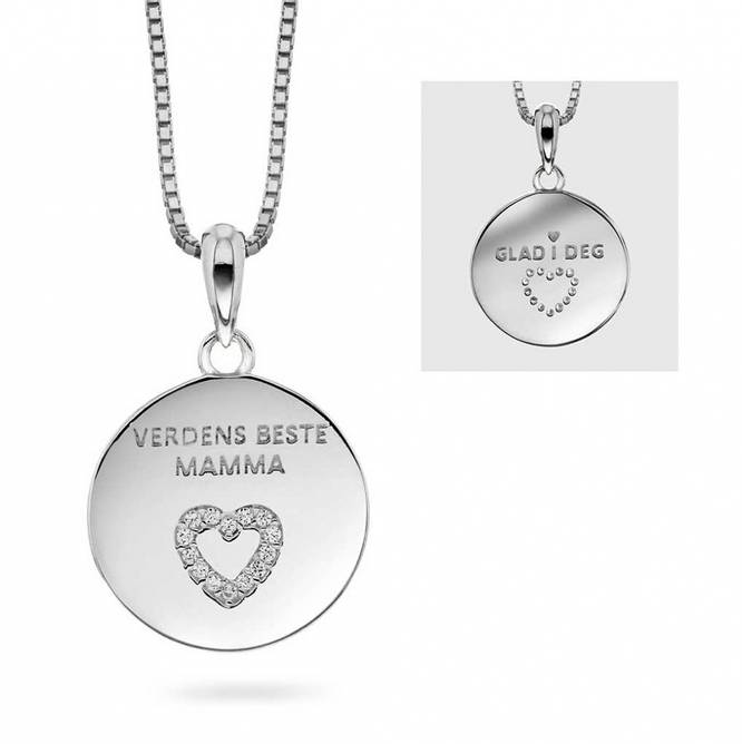 Bilde av Smykke sølv, Verdens Beste