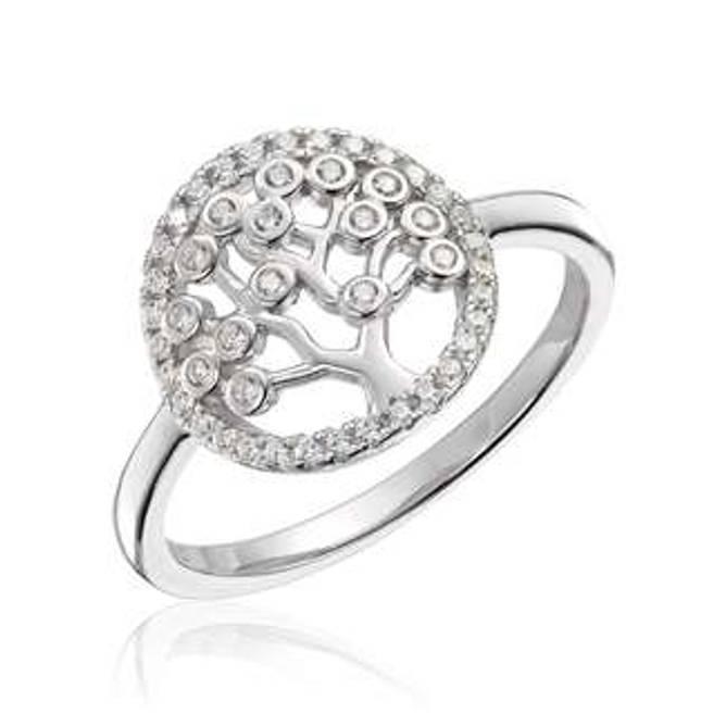 Bilde av Livets tre ring, sølv