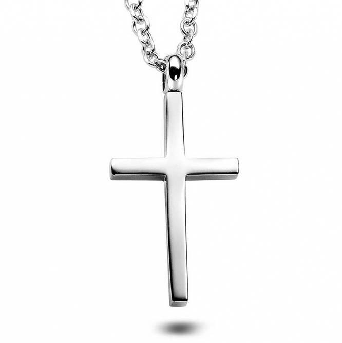 Bilde av Kors smykke, stål